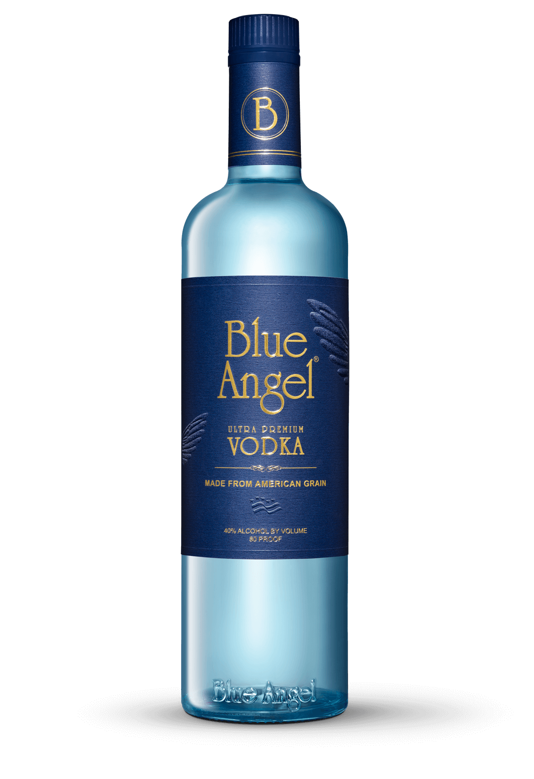 Blue Angel Bottle